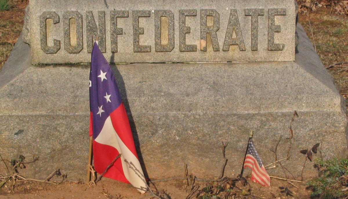 See: Confederate Memorial at Silver Spring Church Knocked Over